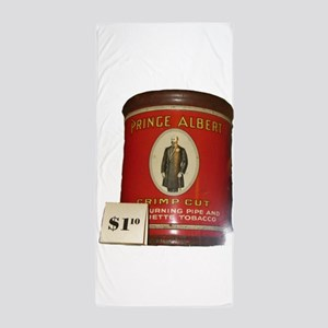 Prince Albert in a can Beach Towel