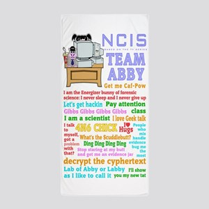 Ncis Abby Beach Towel