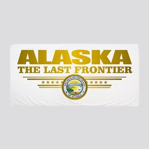 Alaska Pride Beach Towel