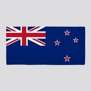 Flag of New Zealand Beach Towel