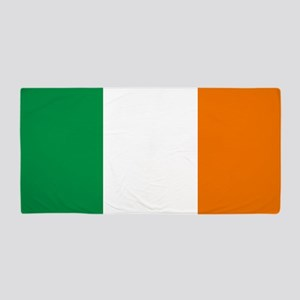 Flag of Ireland Beach Towel