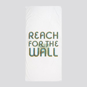 Swim Slogan Beach Towel