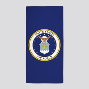 Air Force USAF Emblem Beach Towel
