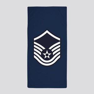 USAF: MSgt E-7 (Blue) Beach Towel
