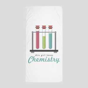 Love Chemistry Beach Towel