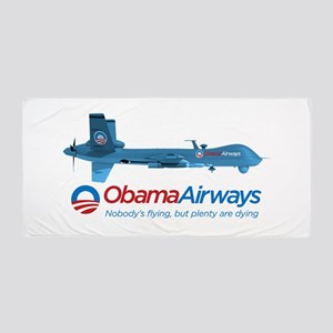 Obama Airways Beach Towel