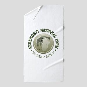 Serengeti NP Beach Towel
