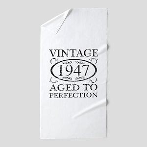 Vintage 1947 Beach Towel