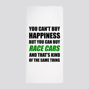 You Can't Buy Happiness But You Can Bu Beach Towel