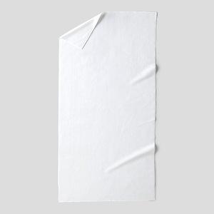 Jolly Santa Nuthouse Beach Towel