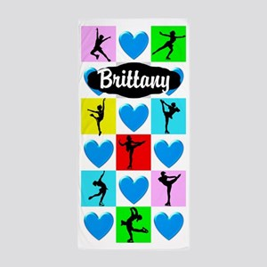 Personalized Skater Beach Towel