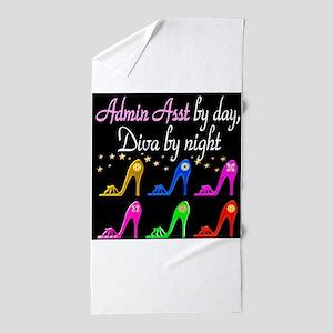 ADMIN ASST Beach Towel