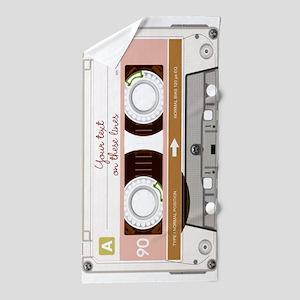 Cassette Tape - Tan Beach Towel