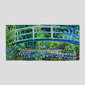 Monet - Water Lily Pond Beach Towel