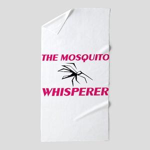 The Mosquito Whisperer Beach Towel