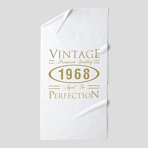 Vintage 1968 Premium Beach Towel
