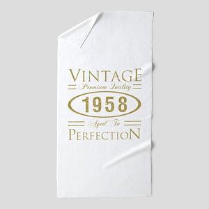 Vintage 1958 Premium Beach Towel