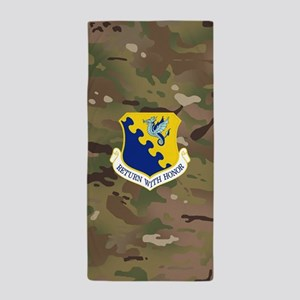 31st Fighter Wing Beach Towel