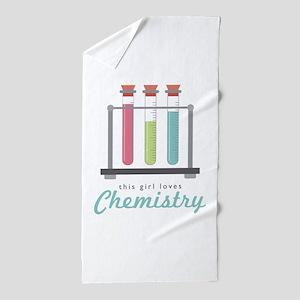 Love Chemistry Beach Towel