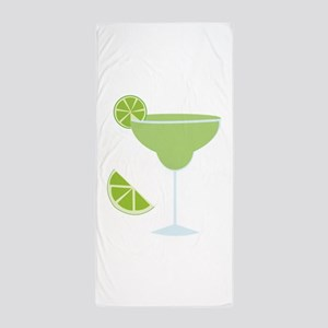 Lime Margarita Beach Towel