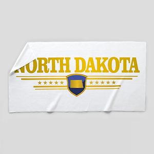 North Dakota Gadsden Beach Towel