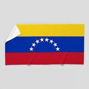 Flag of Venezuela Beach Towel