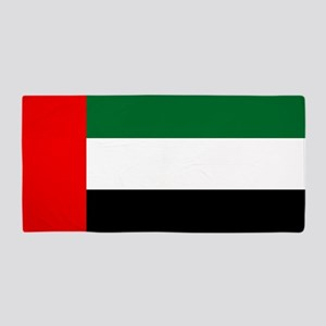 United Arab Emirates Flag Beach Towel