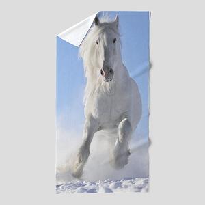 Beautiful Horses Beach Towel