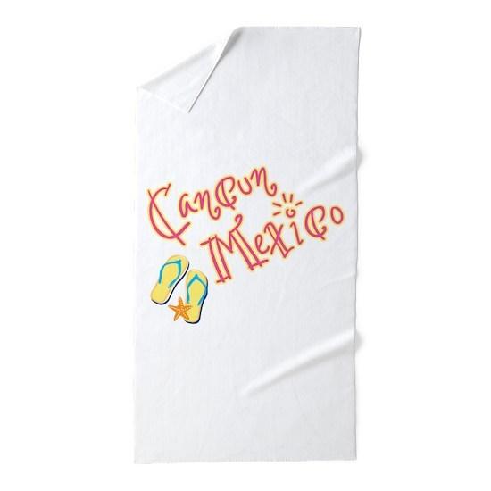 Cancun Mexico Beach Towel By