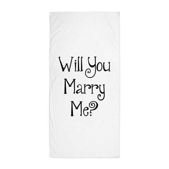 Will You Marry Me?