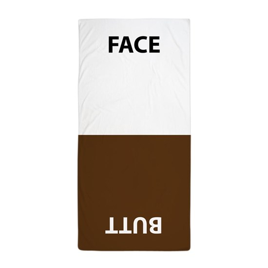 funny face/butt Towel