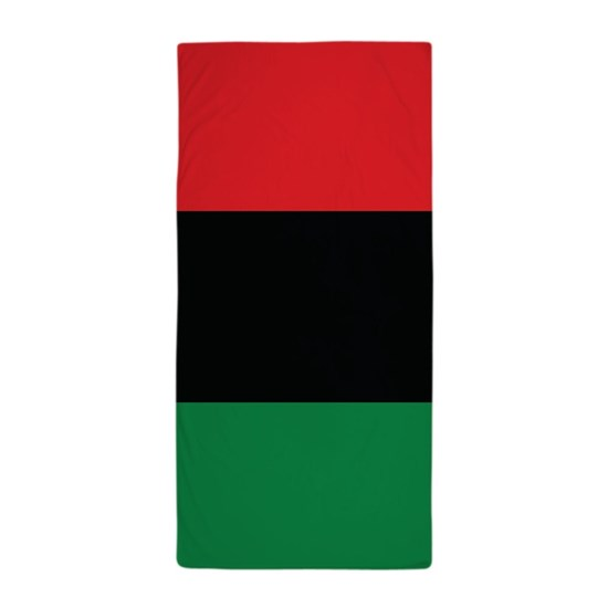 The Red, Black and Green Flag