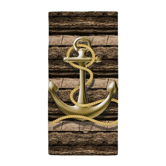 shabby chic vintage anchor