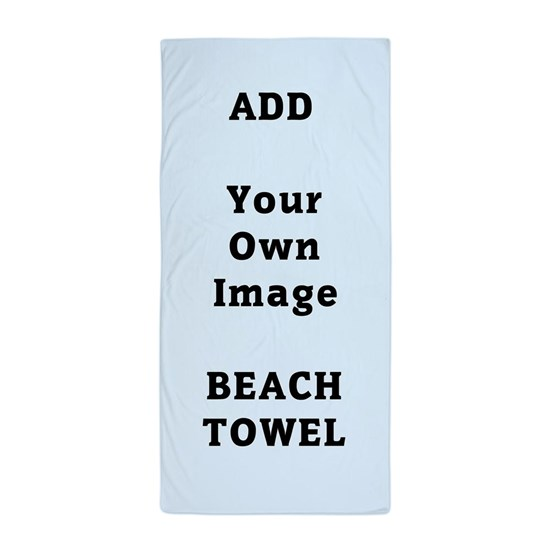Add Photo Beach Towel