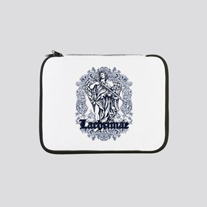 "lachrimae blue affected design 13"" Laptop Sleeve"
