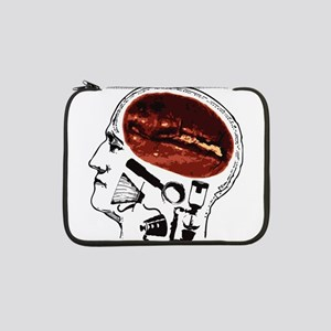 "Coffee For Brains 13"" Laptop Sleeve"