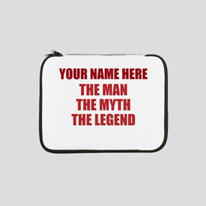 "Custom Man Myth Legend 13"" Laptop Sleeve"