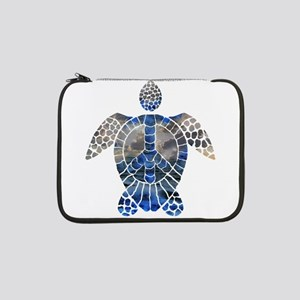 "Sea Turtle Peace 13"" Laptop Sleeve"