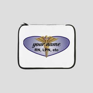 "Personalized Nurse 13"" Laptop Sleeve"