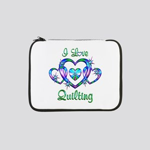 "I Love Quilting 13"" Laptop Sleeve"