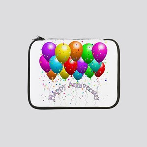 "Happy Anniversary Balloons 13"" Laptop Sleeve"