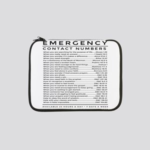 "bible emergency number 13"" Laptop Sleeve"