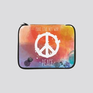 "Peace Sign 13"" Laptop Sleeve"