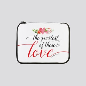 "Greatest Love 13"" Laptop Sleeve"