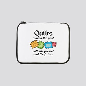 "QUILTS CONNECT 13"" Laptop Sleeve"