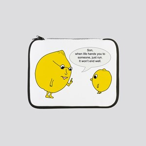 "Lemonly Advice 13"" Laptop Sleeve"