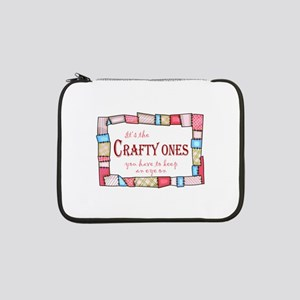 "QUILTING HUMOR 13"" Laptop Sleeve"
