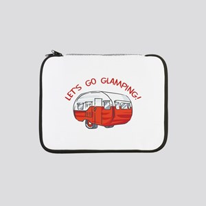 "LETS GO GLAMPING 13"" Laptop Sleeve"