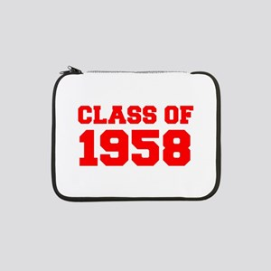 "CLASS OF 1958-Fre red 300 13"" Laptop Sleeve"