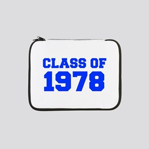 "CLASS OF 1978-Fre blue 300 13"" Laptop Sleeve"